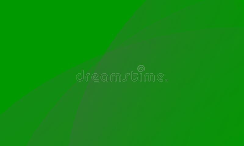 Alinee el fondo del color verde, o el ejemplo del naturaleza o fresco del fondo del arte del extracto ilustración del vector