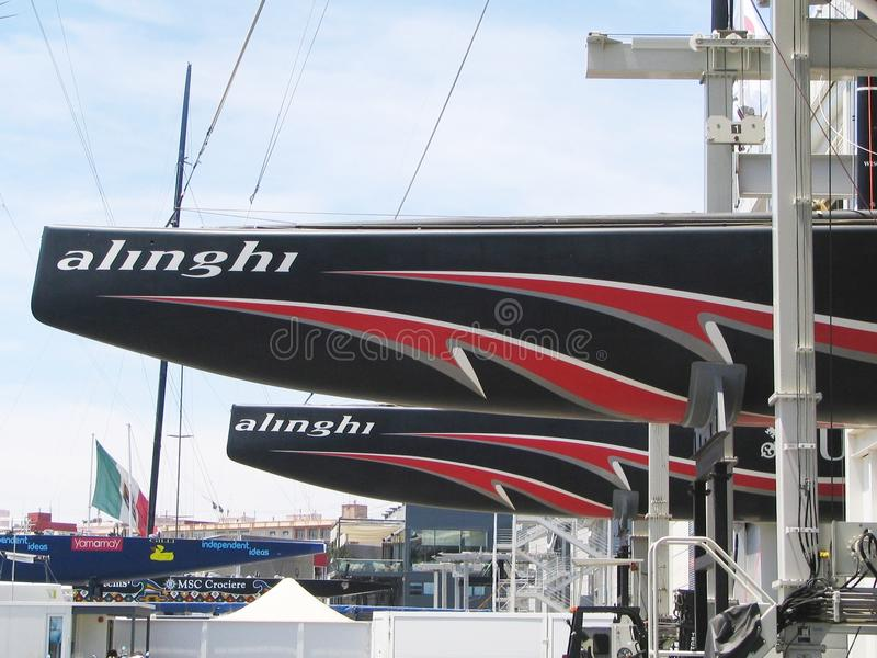 Download Alinghi, America's cup editorial photography. Image of team - 18846797