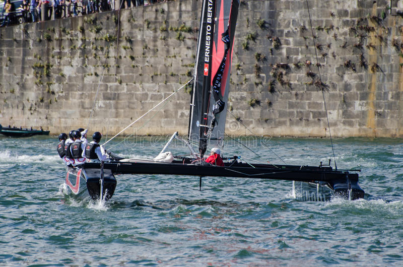 Download Alinghi Compete In The Extreme Editorial Photography - Image: 25609517
