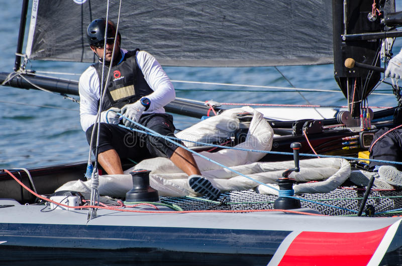 Download Alinghi Compete In The Extreme Editorial Stock Image - Image: 25609519