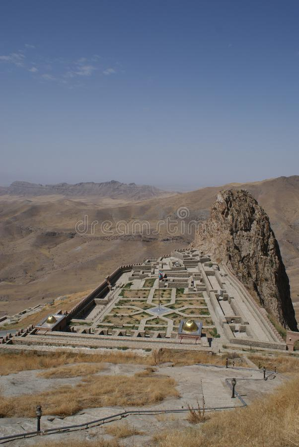Alinja堡垒,纳希切万自治共和国,阿塞拜疆 免版税库存照片