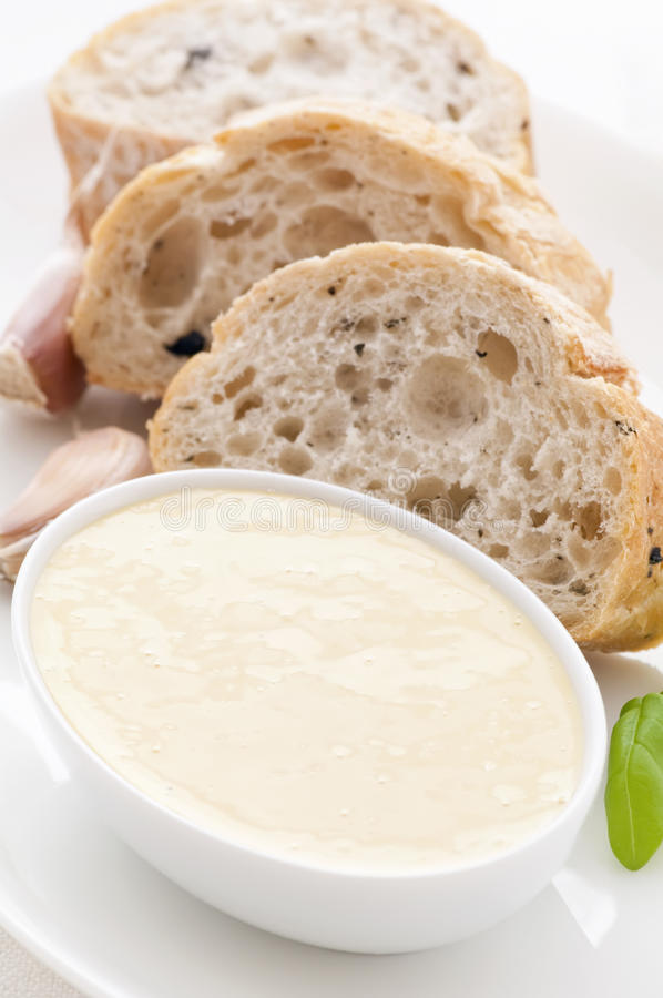 Download Alioli With Bread Royalty Free Stock Images - Image: 17530369