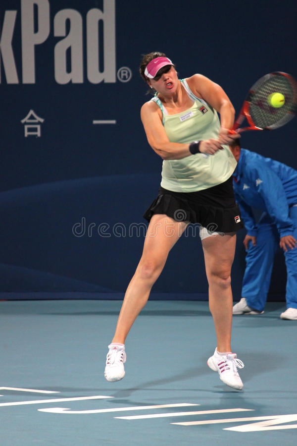 Alisa Kleybanova (RUS), joueur de tennis photos stock