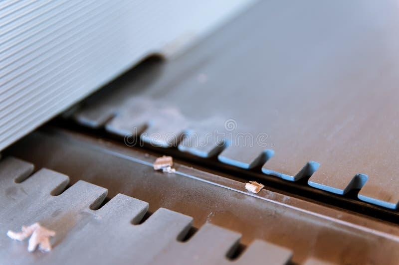 Alisadora, ensambladora imagen de archivo