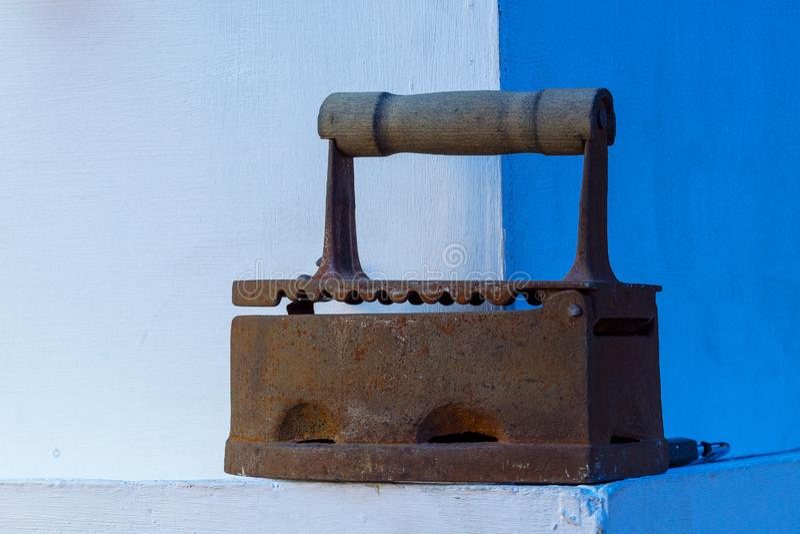 Alisar-ferro oxidado marrom velho da beleza fotos de stock royalty free