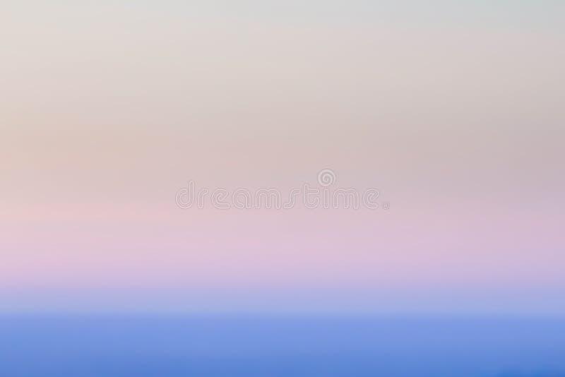 Alise el color en colores pastel del azul del fondo de la pendiente del extracto de la puesta del sol B imágenes de archivo libres de regalías
