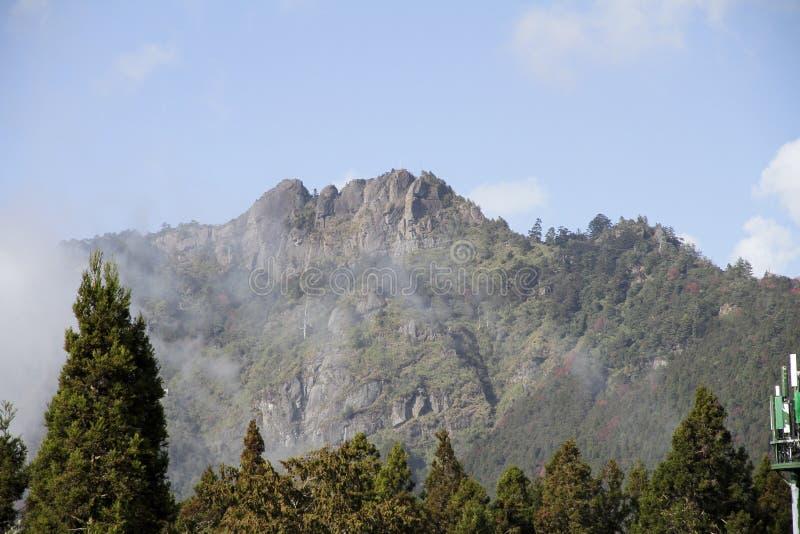 Alishan berg royaltyfri bild