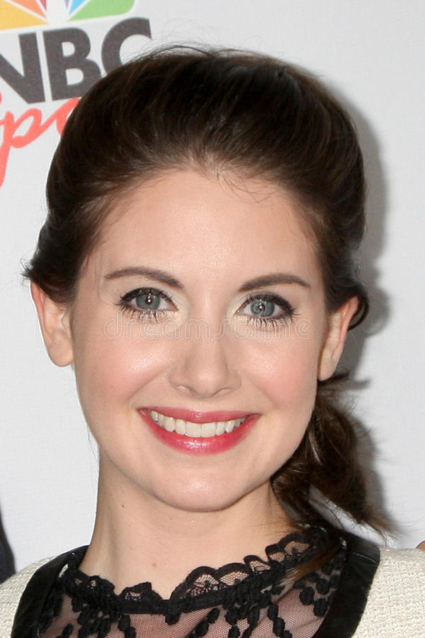 Download Alison Brie editorial photography. Image of alison, party - 23573522