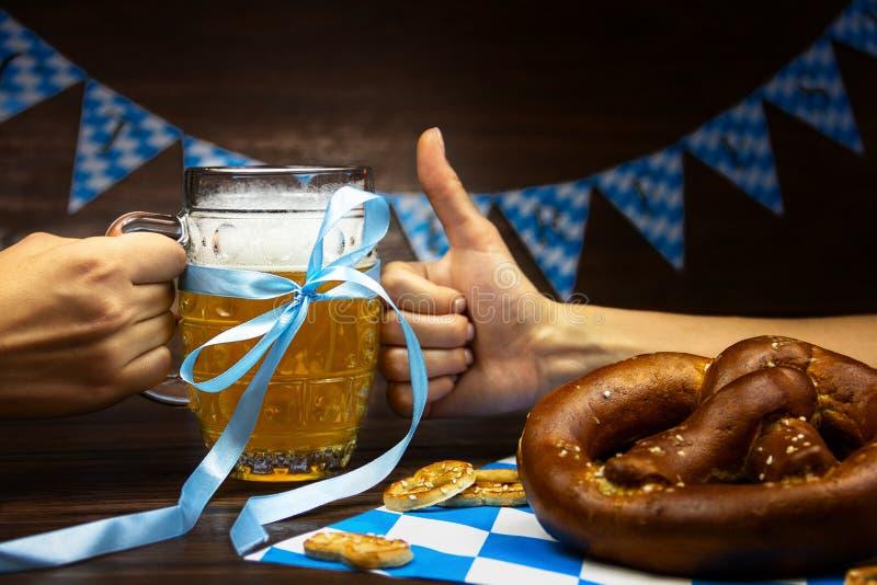 Aliste para el festival de la cerveza de octubre en el mes de octubre del otoño en Alemania foto de archivo libre de regalías