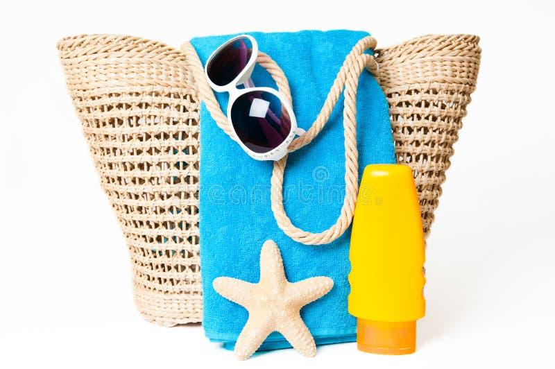 Aliste para la playa fotografía de archivo libre de regalías
