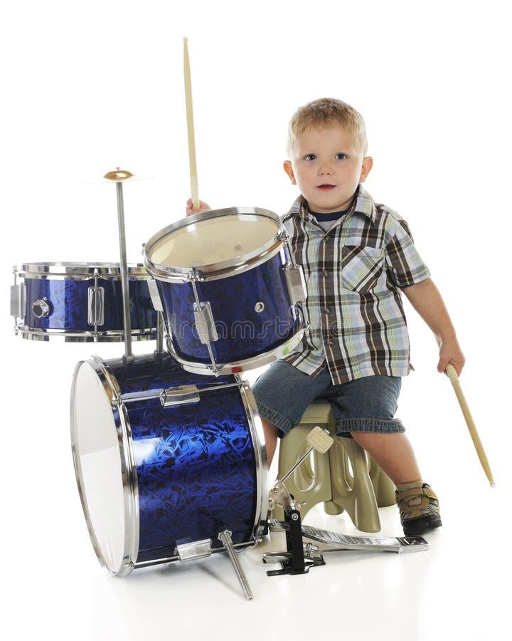 Aliste para los tambores foto de archivo libre de regalías