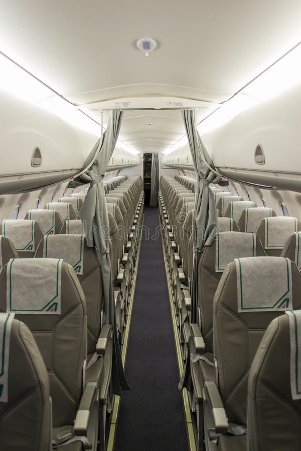Alitalia Airplane Seat Editorial Stock Photo Image 33306138
