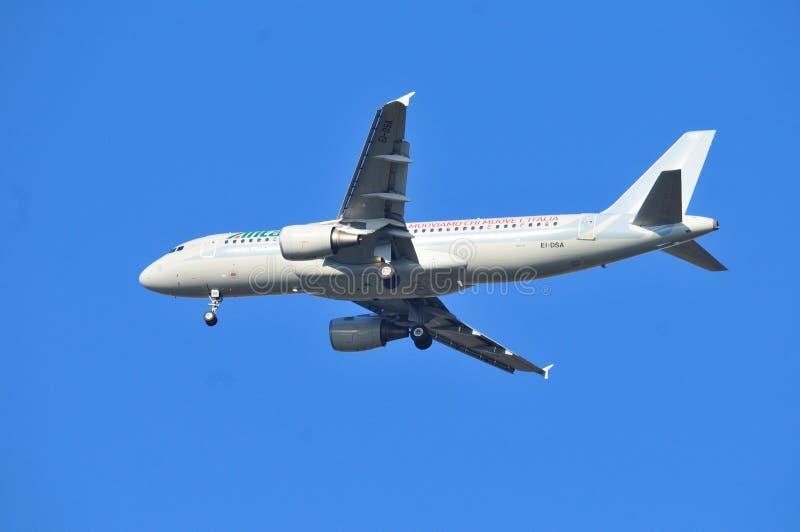 Alitalia hebluje zdjęcie royalty free
