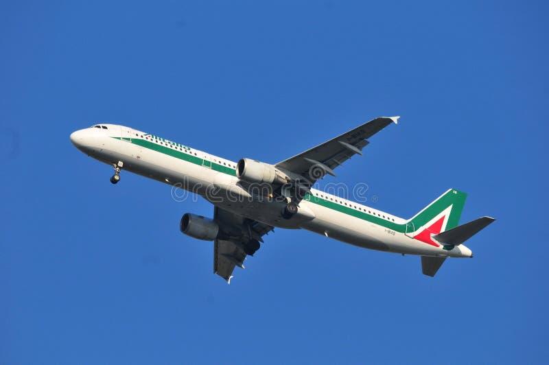 Alitalia hebluje fotografia royalty free