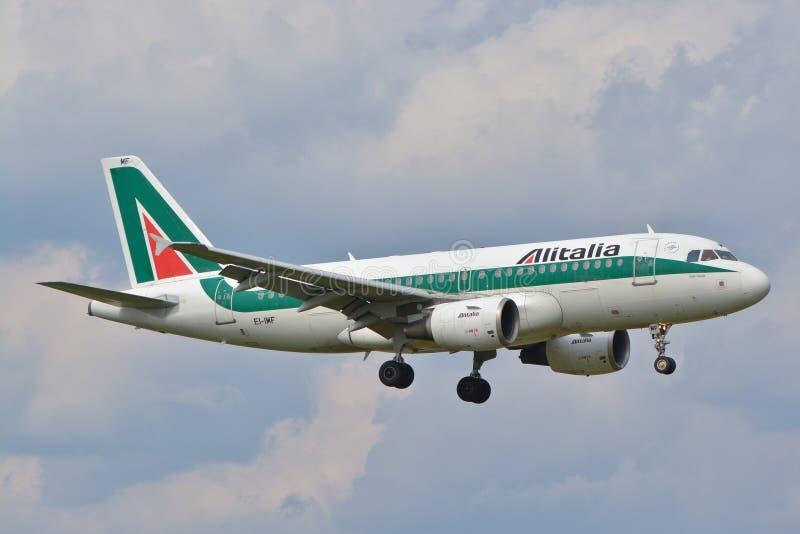 Alitalia hebluje obrazy stock