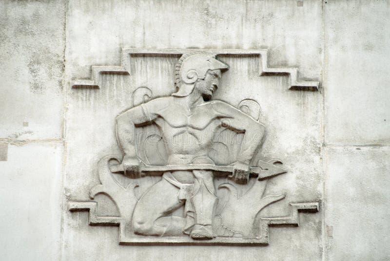 Alivio de dios de Vulcan, Westminster imagenes de archivo