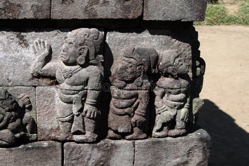 Alivio de Sukuh imágenes de archivo libres de regalías