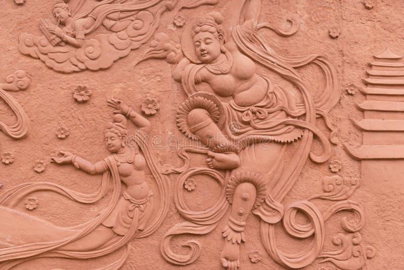 Alivio del Bodhisattva foto de archivo
