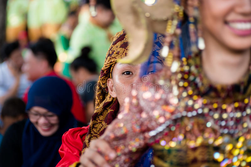 Aliwan Festival 2017, Pasay City, Philippines.  royalty free stock image