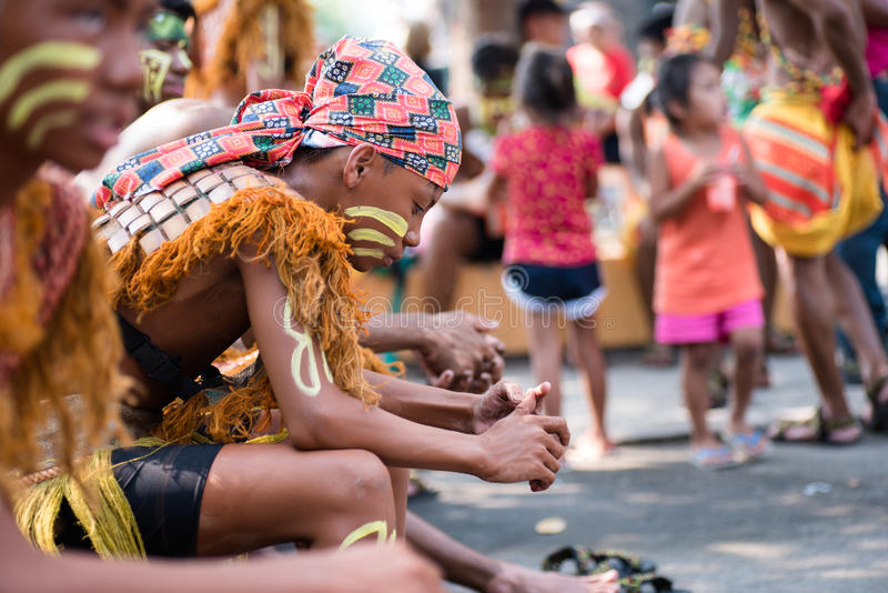 Aliwan Festival 2017, Pasay City, Philippines.  royalty free stock photography