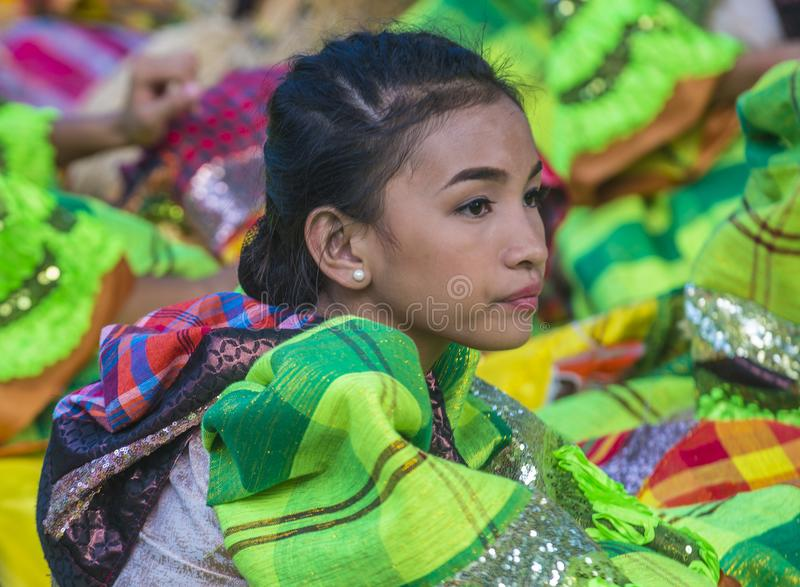 2018 Aliwan Fiesta. MANILA , PHILIPPINES - APRIL 27 :Participant in the Aliwan fiesta in Manila Philippines on April 27 2018. Aliwan Fiesta is an annual event stock photography