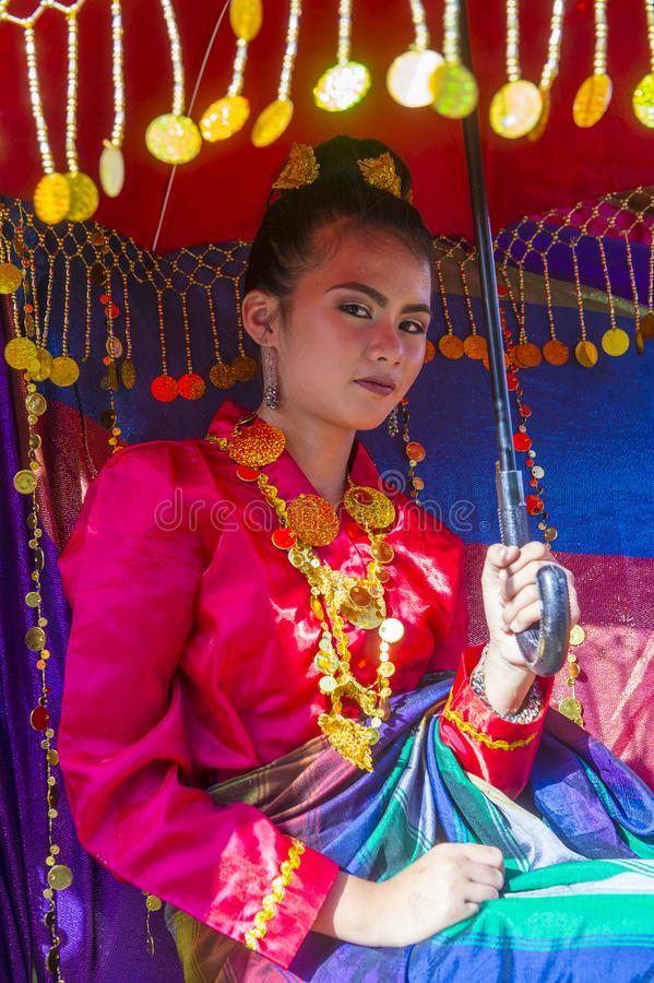2019 Aliwan Fiesta. MANILA , PHILIPPINES - APRIL 27 :Participant in the Aliwan fiesta in Manila Philippines on April 27 2019. Aliwan Fiesta is an annual event royalty free stock photo