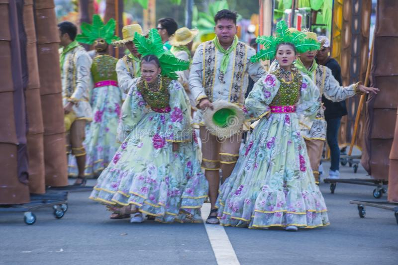 2019 Aliwan Fiesta. MANILA , PHILIPPINES - APRIL 27 :Participants in the Aliwan fiesta in Manila Philippines on April 27 2019. Aliwan Fiesta is an annual event royalty free stock photography