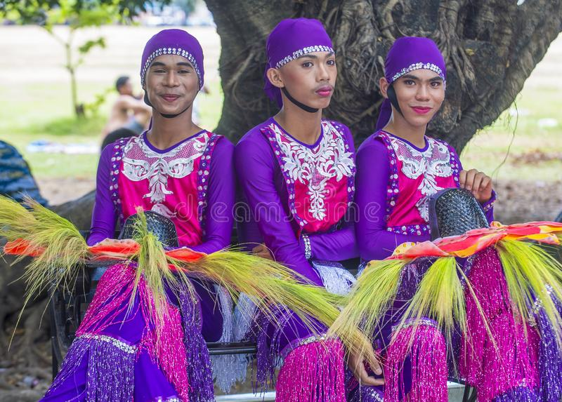 2018 Aliwan Fiesta. MANILA , PHILIPPINES - APRIL 27 :Participants in the Aliwan fiesta in Manila Philippines on April 27 2018. Aliwan Fiesta is an annual event royalty free stock images
