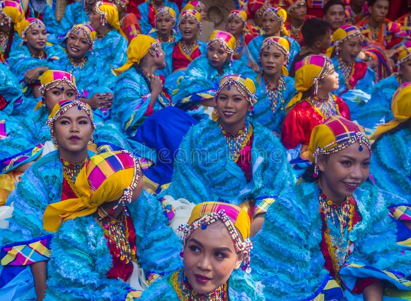 2018 Aliwan Fiesta. MANILA , PHILIPPINES - APRIL 27 :Participants in the Aliwan fiesta in Manila Philippines on April 27 2018. Aliwan Fiesta is an annual event stock photos