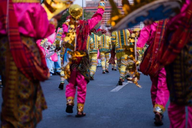 Aliwanfestival 2017, Pasay-Stad, Filippijnen royalty-vrije stock foto
