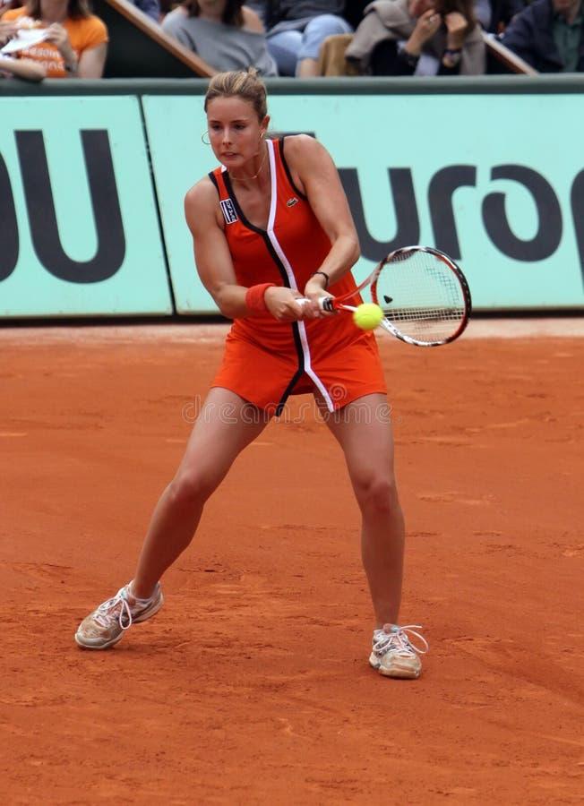 Alize Cornet (FRA) at Roland Garros 2009