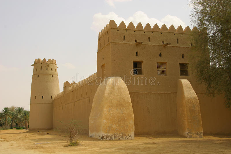 AlJahili Fort arkivfoto
