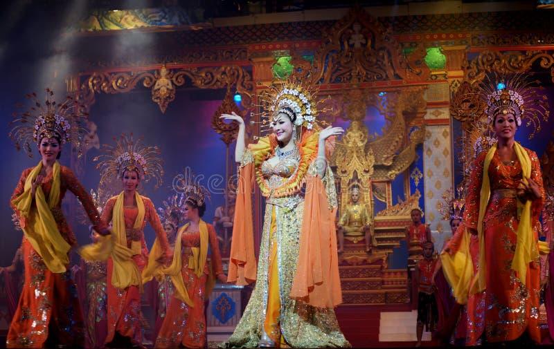 Alkazar-show. Show transvestite cabaret Alcazar. Pattaya, Thailand royalty free stock images