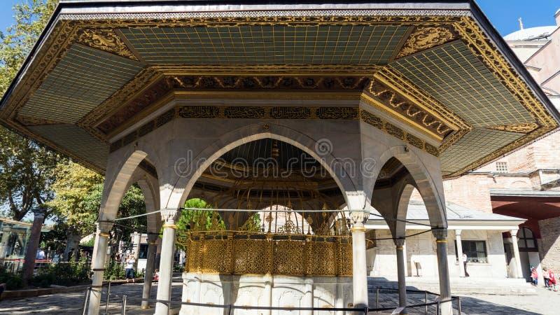 Alkierz w sultanahmet, Istanbuł, Turcja zdjęcia royalty free