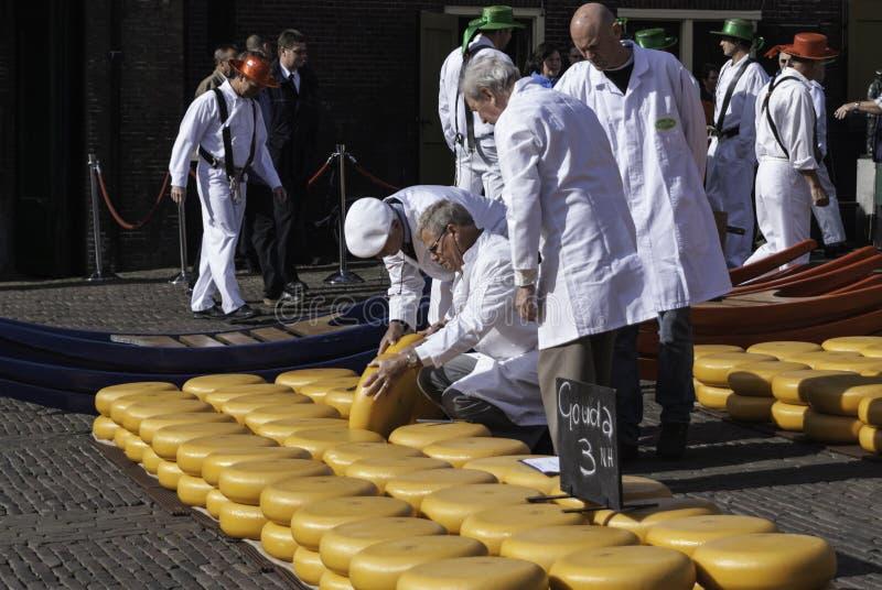 ALKMAAR, DIE NIEDERLANDE - CIRCA IM APRIL 2007 lizenzfreie stockfotografie
