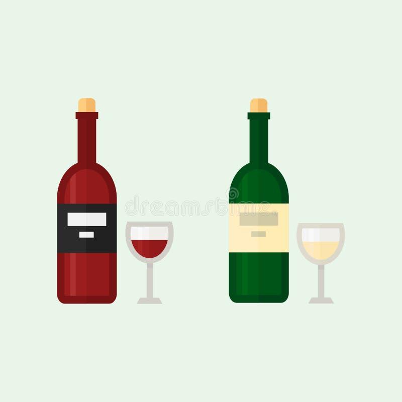 Alkoholów napojów napojów koktajlu whisky napoju butelki lager orzeźwienia zbiornik i menu pijący concep różni ilustracji