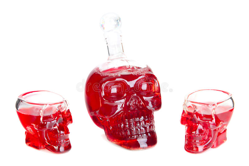 Alkohol royaltyfri fotografi