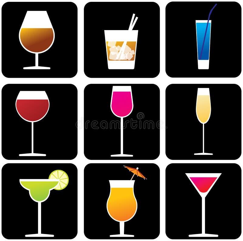 alkohol. ilustracji