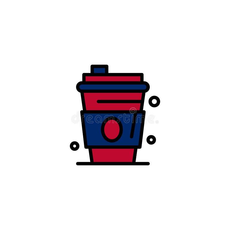 Alkohol drink, fruktsaft, USA-affär Logo Template plan f?rg stock illustrationer