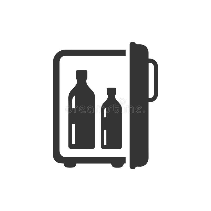 alkohol ikona ilustracja wektor