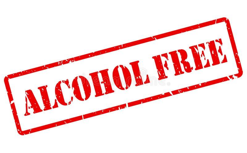 Alkohol uwalnia znaczek royalty ilustracja