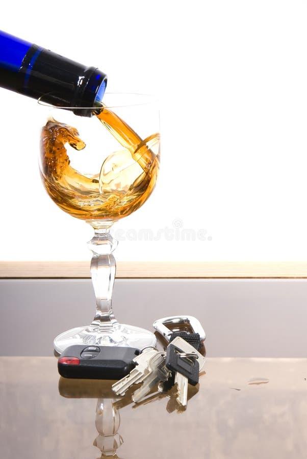alkoholbiltangenter fotografering för bildbyråer