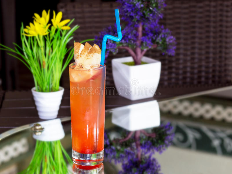 Alkoholcocktail stockfotografie