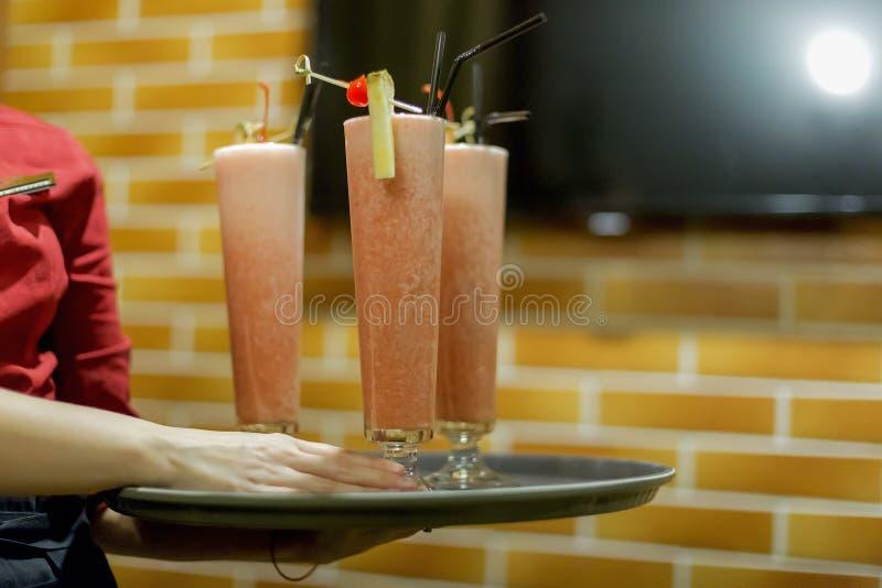 Alkoholcocktails stockfoto