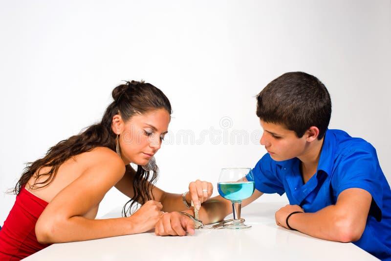 Alkoholfrei stockbilder