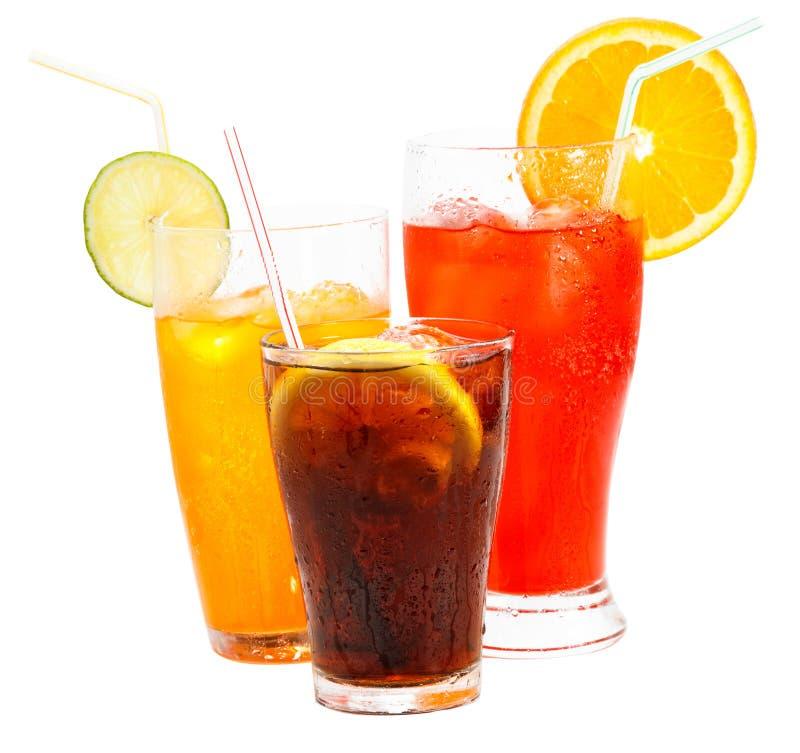Alkoholfreie Getränke stockfoto. Bild von kühl, orange - 24045450
