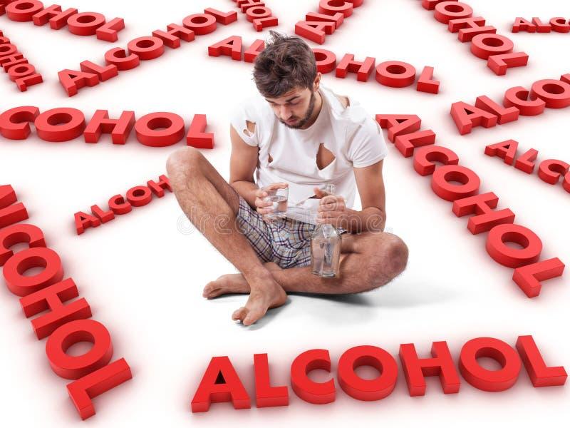 Alkoholiczka obrazy stock