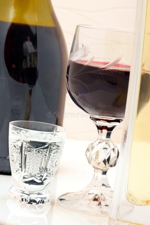 Alkoholiczni napoje. zdjęcia royalty free