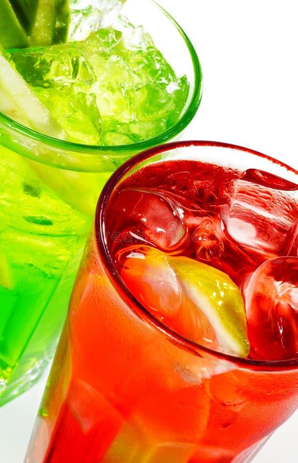 Alkoholische Cocktails stockfotografie