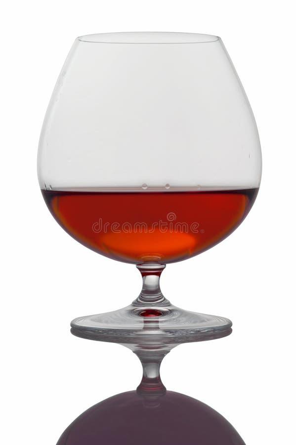 Alkoholisches Getränk im Glas stockfotografie